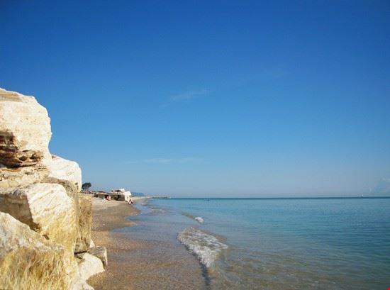 La lunghissima spiaggia