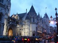 the royal court of justice londra