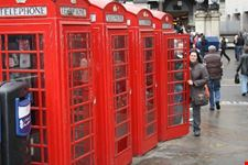 cabine telefoniche londra
