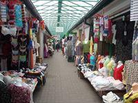 Flea market in Obozowa