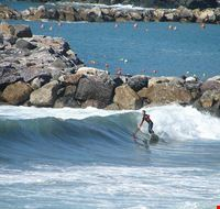 Surfer in Levanto