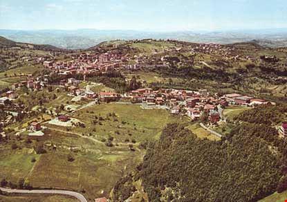 Veduta aerea del panorama