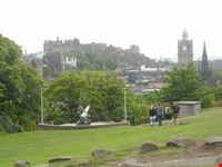 il castello da calton hill edimburgo