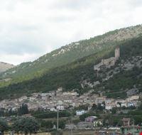 La piccola cittadina di Navelli