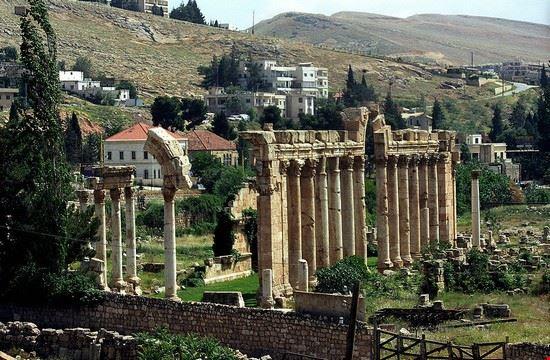 Veduta panoramica di Baalbek