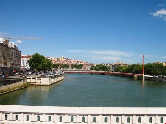 46444 la citta vista da uno dei ponti lione