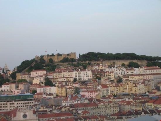 46479 vista su castelo dal bairro alto lisbona
