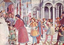 san gimignano agostino alla scuola gozzoli 1465