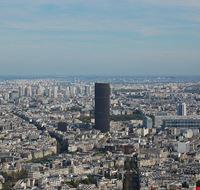 46685 parigi tour de montparnasse nello skyline di parigi
