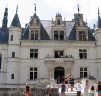 46691 nantes facciata del castello di chenonceau