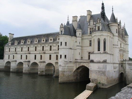 46692 nantes castello di chenonceau sul fiume cher