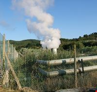 un soffione geotermico