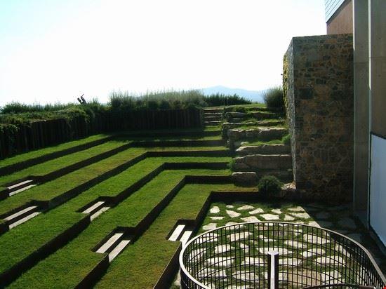 l'anfiteatro del monastero di Siloe