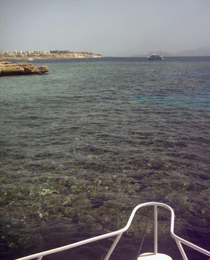 vista di sharm dalla barca