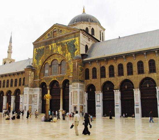 la grande moschea di damasco damasco sy