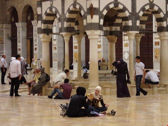 la grande moschea damasco sy