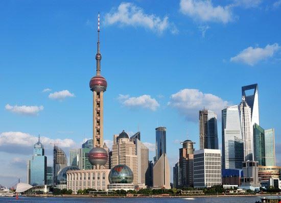 city scape shanghai