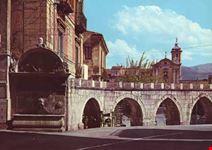 Fontana del Vecchio con acquedotto medioevale del 1474