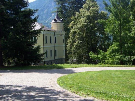 villa interna al parco