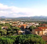 arzachena panorama della citta