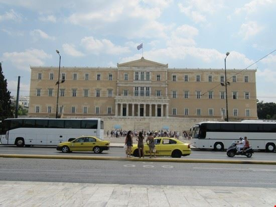 Palazzo del parlamento atene for Parlamento on line