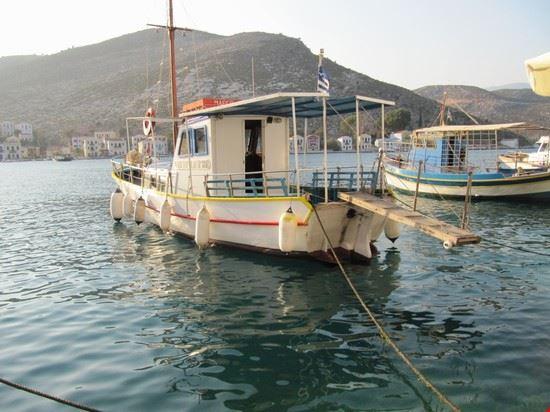 Barca per il tragitto Kastelorizo - Kas (turchia)
