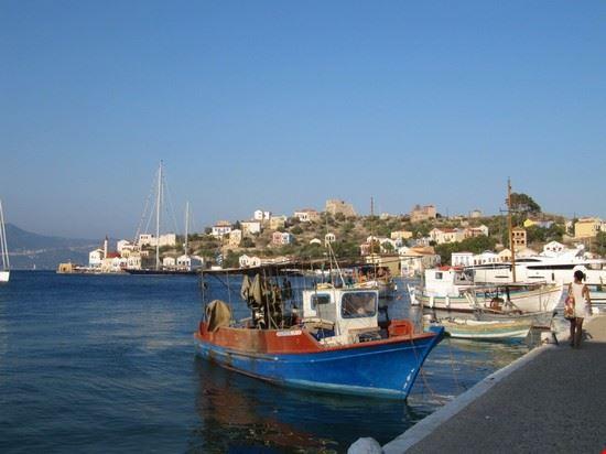 kastelorizo barche di pescatori