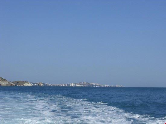 Vieste vista dal mare