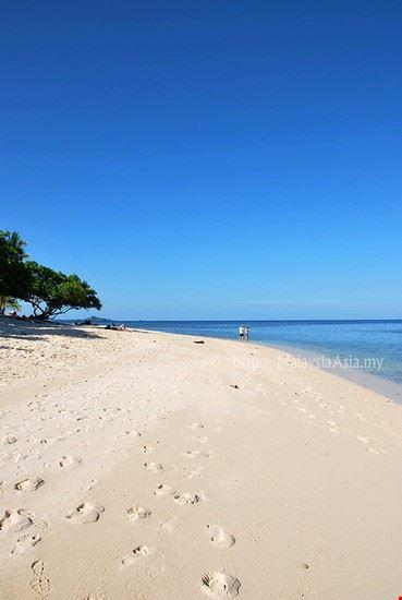 Selingan Island Beach, Sabah Borneo