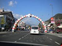 L'arco dove passa il tour
