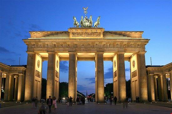 Porte de Brandebourg à Berlin, Allemagne