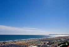 Veduta della spiaggia