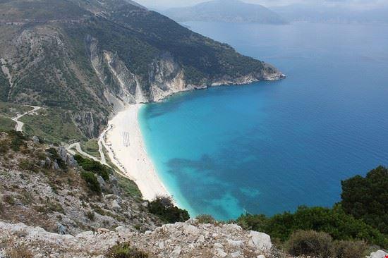 cefalonia spiaggia di myrtos