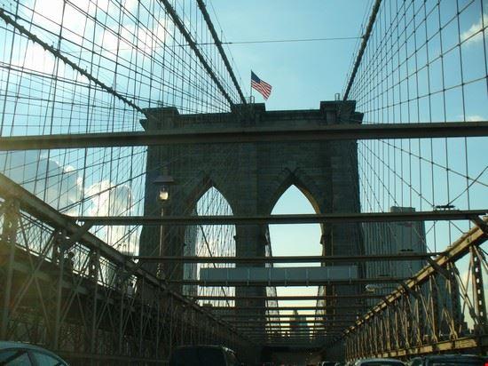 47701 viaggiando sul ponte di brooklyn new york