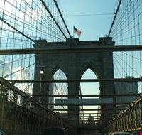 47701 viaggiando sul ponte di brooklyn new york