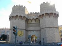 una delle antiche porte della citta valencia