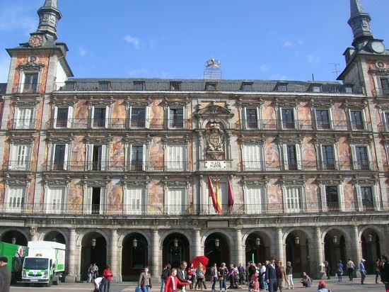 madrid plaza mayor madrid