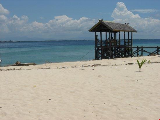 La spiaggia di Samalona