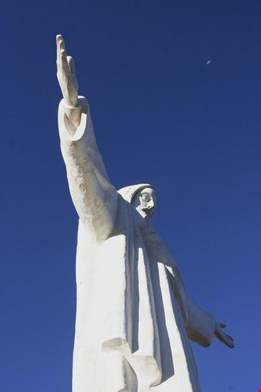 El Cristo Blanco de Cusco