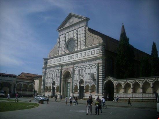 47914 santa maria novella la facciata principale firenze