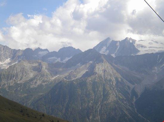 Gruppo della Presanella  visto dalla Malga Valbiolo
