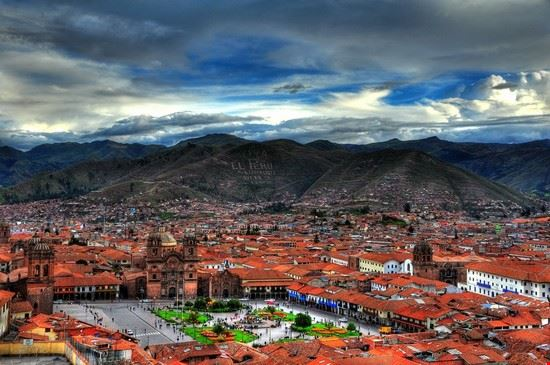 city panorama cuzco