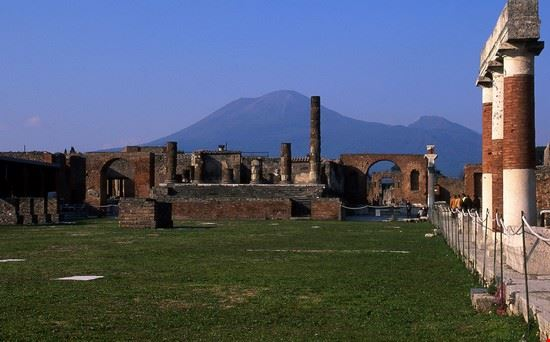 Il foro degli scavi di Pompei