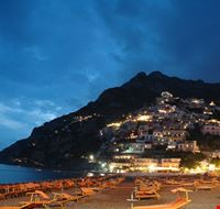 Positano all'imbrunire