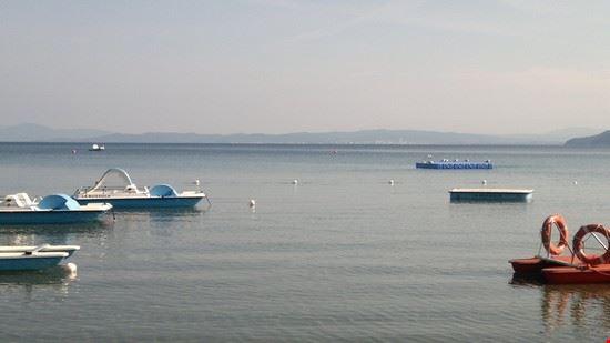 Gabbiani sul mare di Punta Ala