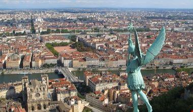 Vue de Lyon, France
