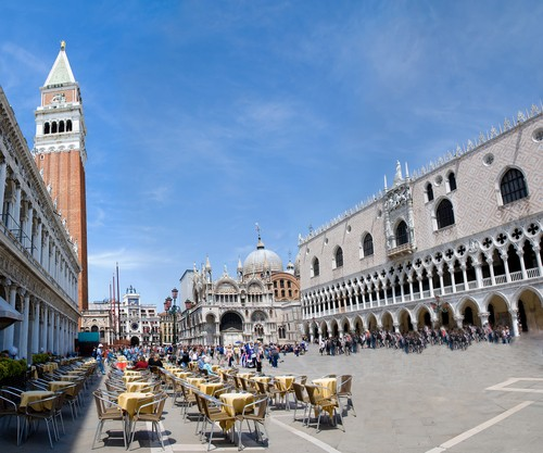 Photo Venise Place Saint Marc Piazza San Marco In Venice