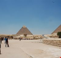 La piana di Giza