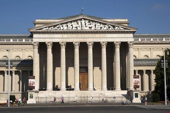 48791 budapest museo delle belle arti di budapest