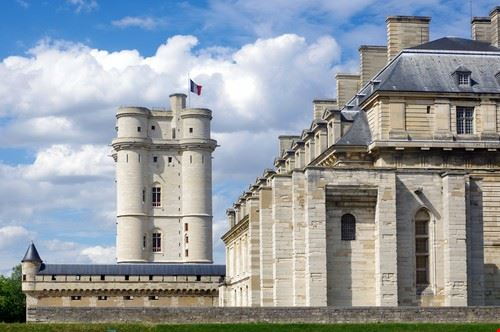Vincennes, le château